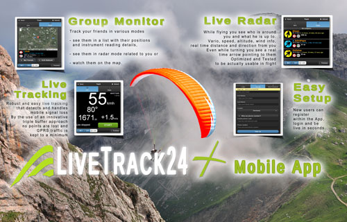 LiveTrack24 official mobile App